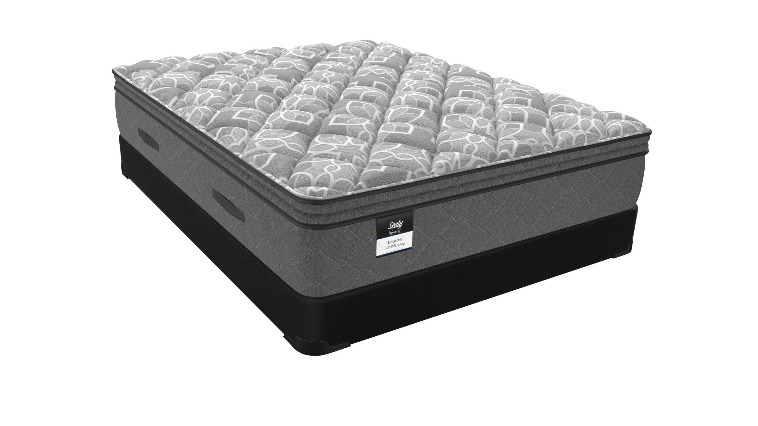 sealy posturepedic decorah deluxe soft euro pillow top